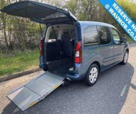 WHEELCHAIR ACCESSIBLE DISABLED ACCESS RAMP CAR 5-DOOR