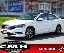 USED 2020 VOLKSWAGEN JETTA HIGHLINE AUTO CAM ROOF LEATH HTD-SEATS