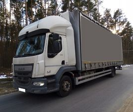 DAF LF 12.250 EURO 6 MANUAL 22EP SALON POLSKA