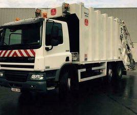 ② DAF CF75 310+ VDK MAXLIFT + AE WEIGHING SYSTEM (BJ 2014) - CAMIONS