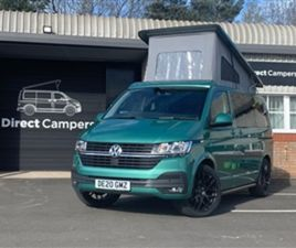 USED 2020 VOLKSWAGEN TRANSPORTER T6.1 HIGHLINE CAMPERVAN WITH TAILGATE NOT SPECIFIED 5,000