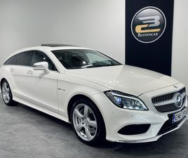 MERCEDES-BENZ CLS 500 4MATIC AMG-STYLING SHOOTING BRAKE **SUOMI-AUTO, WEBASTO, 2X ALUT, DI