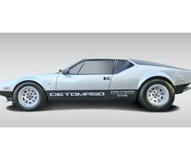 1973 DE TOMASO PANTERA GTS DE TOMASO PANTERA | VOITURES