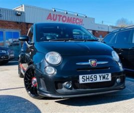 USED 2009 FIAT 500 1.4 ABARTH 3D 135 BHP HATCHBACK 90,000 MILES IN BLACK FOR SALE | CARSIT