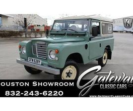 1982 LAND ROVER SERIES 3 FOR SALE