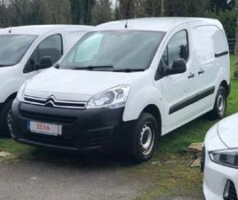 CITROEN BERLINGO HDI 75 MANUAL L1 625 LX FOR SALE IN LONGFORD FOR €8,750 ON DONEDEAL