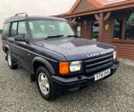 1999 LAND ROVER DISCOVERY 2.5 TD5 GS 5 SEAT 5DR 4X4 MANUAL CLOTH TOWBAR