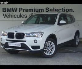 BMW X3 SDRIVE18DA 150CH LOUNGE PLUS