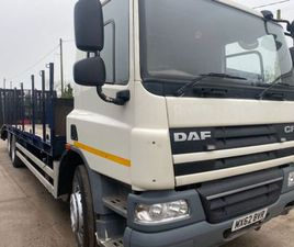 2012 DAF CF 75 310 6X2 30FT BEAVERTAIL FOR SALE IN ARMAGH FOR €1 ON DONEDEAL