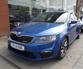 SKODA OCTAVIA VRS 2.0 ESTATE AUTOMATIC 2017 FOR SALE IN DUBLIN FOR €20,750 ON DONEDEAL