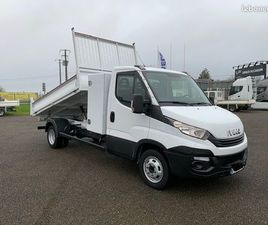 IVECO DAILY / 35-160 / BENNE & COFFRE NEUF / 35C16 / 2018 / 160 CH /