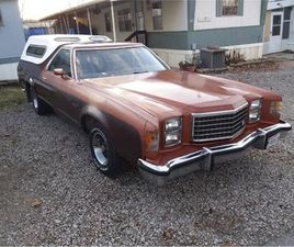 FOR SALE: 1978 FORD RANCHERO IN CADILLAC, MICHIGAN