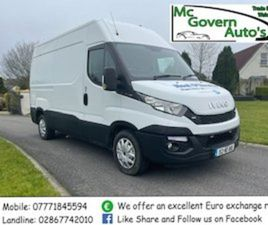 2015 IVECO DAILY 35S13 MWB (+VAT) FOR SALE IN FERMANAGH FOR €8850 ON DONEDEAL