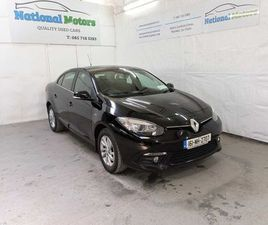 2016 RENAULT FLUENCE INTENSE 1.5 DCI FOR SALE IN LIMERICK FOR €10,995 ON DONEDEAL