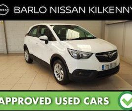 OPEL CROSSLAND X SC 1.6CDTI 99PS 5D FOR SALE IN KILKENNY FOR €16475 ON DONEDEAL