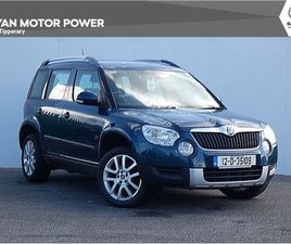SKODA YETI AMBITION 2.0TDI 110HP 4DR FOR SALE IN TIPPERARY FOR €8,150 ON DONEDEAL