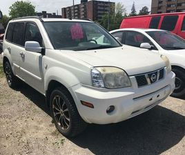 2006 NISSAN X-TRAIL AS-IS