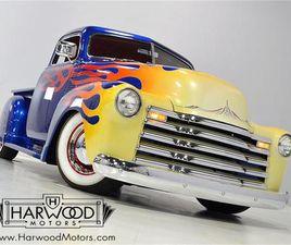FOR SALE: 1950 CHEVROLET 3100 IN MACEDONIA, OHIO