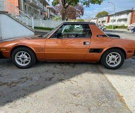 1981 FIAT X1/9 FUEL INJECTION - TOUT ORIGINALE / ALL ORIGINAL | CARS & TRUCKS | CITY OF MO