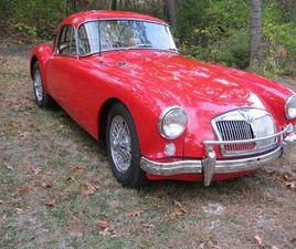 1957 MG A MGA COUPE 1500