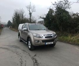 ISUZU D-MAX, 2015 FOR SALE IN LONGFORD FOR €18,500 ON DONEDEAL