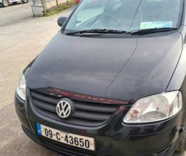 2009 VW FOX TAX 8/21 8/21 FOR SALE IN CORK FOR €1900 ON DONEDEAL