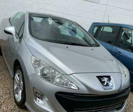 2010 PEUGEOT 308 1.6 PETROL THP 156 SE - FINANCE AVAILABLE AT LOW RATES! CABRIOL