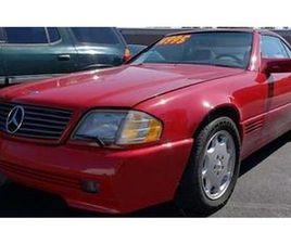 1995 MERCEDES-BENZ SL500 IN CARLISLE, PENNSYLVANIA