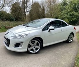 USED 2013 PEUGEOT 308 SOLD CONVERTIBLE IN WHITE FOR SALE | CARSITE