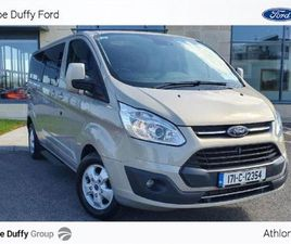 FORD TOURNEO CUSTOM 310 LWB LIMITED 130PS FOR SALE IN ROSCOMMON FOR €29,900 ON DONEDEAL