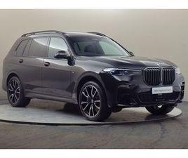 BMW X7 XDRIVE30D M SPORT 3.0 5DR