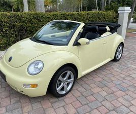 FOR SALE: 2003 VOLKSWAGEN BEETLE IN MILFORD CITY, CONNECTICUT