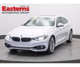 WHITE COLOR 2018 BMW 4 SERIES 430I XDRIVE GRAN COUPE FOR SALE IN FREDERICK, MD 21702. VIN