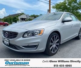 SILVER COLOR 2018 VOLVO S60 T5 INSCRIPTION FOR SALE IN BOWIE, MD 20716. VIN IS LYV402TK0JB