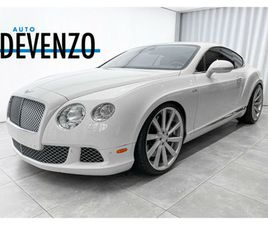 2013 BENTLEY CONTINENTAL GT SPEED GT SPEED W12 616HP MULLINER | CARS & TRUCKS | LAVAL / NO