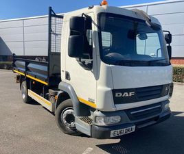 2011 DAF 45/160 10 TON TIPPER FOR SALE IN DOWN FOR £1 ON DONEDEAL