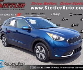 BLUE COLOR 2019 KIA NIRO FOR SALE IN YORK, PA 17404. VIN IS KNDCB3LC2K5253034. MILEAGE IS