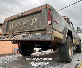JEEP WAGONEER J10 AMC 401 6.6 V8 RESTAURO TOTALE FRAME OFF