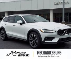 BRAND NEW WHITE COLOR 2021 VOLVO V60 CROSS COUNTRY T5 FOR SALE IN MECHANICSBURG, PA 17050.