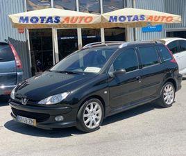 PEUGEOT 206 SW 1.6 HDI S16 A GASÓLEO NA AUTO COMPRA E VENDA