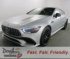 SILVER COLOR 2020 MERCEDES-BENZ AMG GT 53 4MATIC FOR SALE IN TARBORO, NC 27886. VIN IS W1K