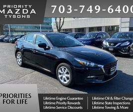 BLACK COLOR 2018 MAZDA MAZDA3 SPORT FOR SALE IN VIENNA, VA 22182. VIN IS 3MZBN1U75JM272644