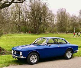 ALFA ROMEO GT JUNIOR UIT 1973 IN 'BLUE FRANCIA' 2.0 L MET SPER!