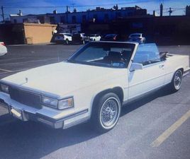 FOR SALE: 1988 CADILLAC DEVILLE IN STRATFORD, NEW JERSEY