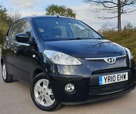 2010/10 HYUNDAI I10 1.2 AUTO COMFORT, JUST 25K FROM NEW, FULL HISTORY, 11 STAMPS