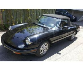 ALFA ROMEO SPIDER 1991, EXCELLENT ÉTAT $12000 | CARS & TRUCKS | CITY OF MONTRÉAL | KIJIJI