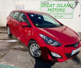 HYUNDAI I30 1.6 DELUXE ESTATE DIESEL MANUAL (110B FOR SALE IN CORK FOR €9,950 ON DONEDEAL