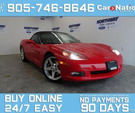 USED 2006 CHEVROLET CORVETTE CONVERTIBLE | LEATHER | NAV | WOW ONLY 28KM!
