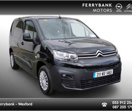 CITROEN BERLINGO ENT 1.5 BLUEHDI 75 S/ FOR SALE IN WEXFORD FOR €16,747 ON DONEDEAL