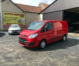 ② FORD CUSTOM TREND 2015 AIRCO 9950E EX - CAMIONNETTES & UTILITAIRES